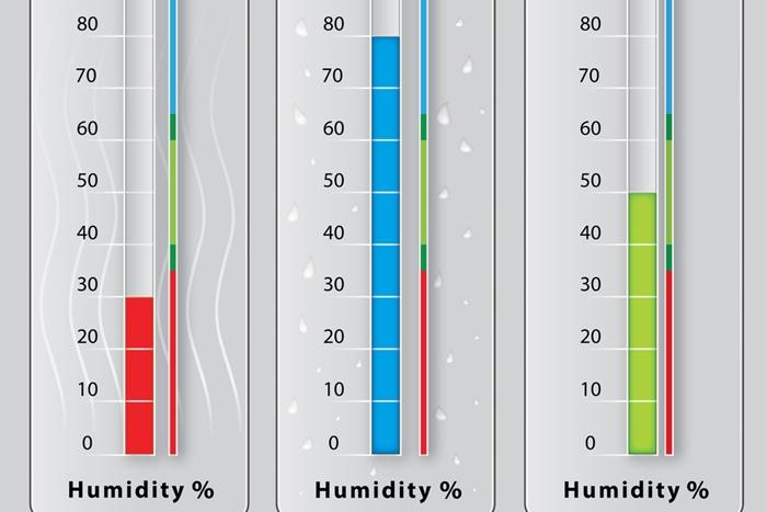 湿度が高いところは避ける