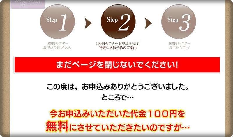 モグニャン100円モニタークーポンについて